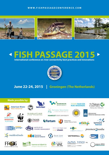 Fish Passage 2015 announcement poster